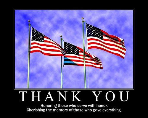 """Memorial Day """"Thank You"""""""